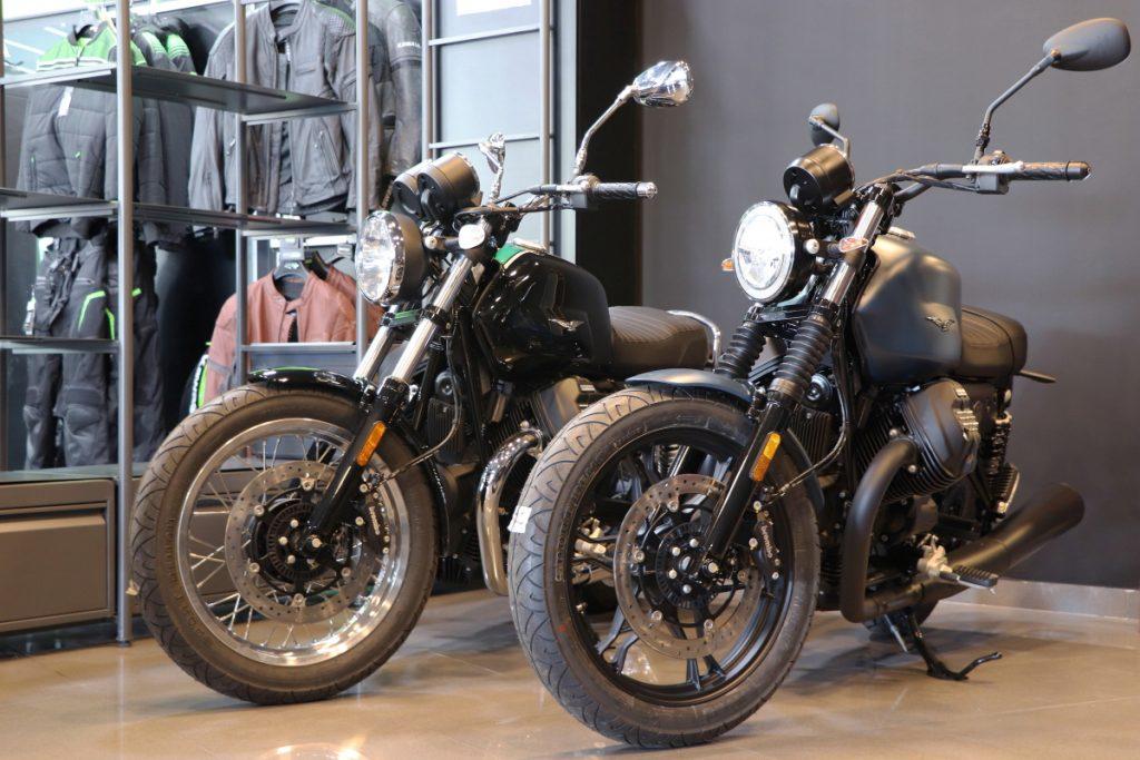 Moto Guzzi en Green Motor