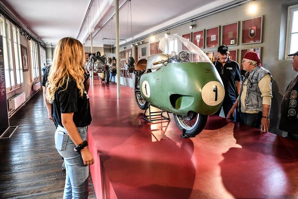 Open House Moto Guzzi museo 2019