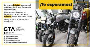 Grupo Todomoto suma a su catálogo las motos de la marca Brixton
