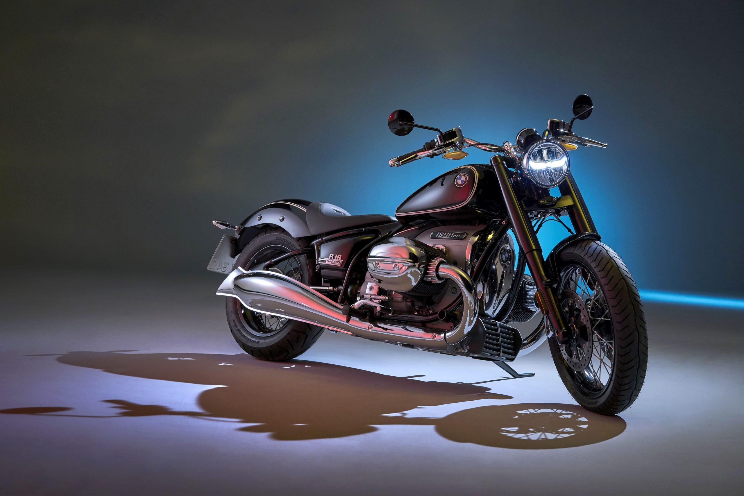 Nueva BMW R18: El motor bóxer BMW más potente de todos los tiempos